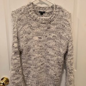 Wild fable long sleeve fuzzy sweater